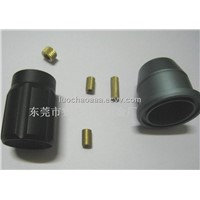 High quality CNC custom turning 6063 aluminum parts,clean anodized,competitive price, small orders