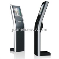 High quality queue ticket dispenser kiosk with LED Display Juumei-QK002