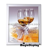 Hight brightness magic mirror light box display