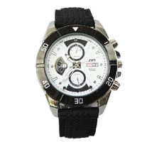Hot 720P watch camera,spy watch camera,replaceable battery watch camcorder with 4GB,CE FCC RoHS