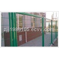 Hot-dipped galvanized Square Post Road Fence