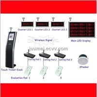 Hot! wireless queue management system ( wired option )good price