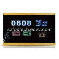 Hotel Touch Doorbell Display, Touch Screen LCD Display, Outdoor LED Display FDS-010G