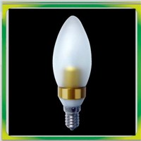 LED COB candle lamp 3w samsung chip 2 years warranty