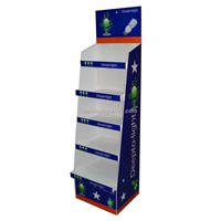 Whole selling floor display stand for LED with SGS(B&C-A022)