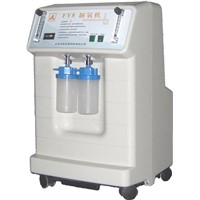 Large flow medical oxygen concentrator