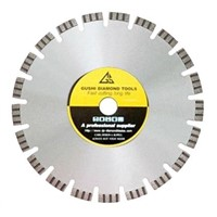 Laser welding diamond circular saw blade for concrete cutting