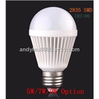 Lowest Prices A60 5W/7W/9W E27 LED Bulb Light CE RoHS