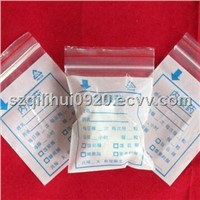 Medical plastic packaging bag, for medicine and drug, clear or printing
