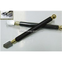 Metal handle glass cutter,Oiling Rolling glass cutting tools,Stained glass knife