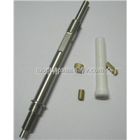 Mini CNC custom  turning PTFE,POM,PEEK, nozzle parts,can small orders,competitive price