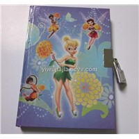 N-019 Mini Notebook Diary With Lock