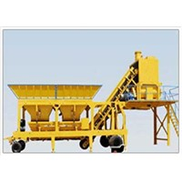 Mobile Concrete Mixing Plant(Concrete Batching Plant)