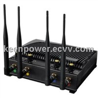 Mobile Phone Jammer and WiFi Jammer with Four Bands Sj8010