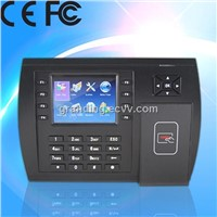 Multimedia proximity time attendance and access control terminal