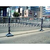 Municipal wire mesh fence
