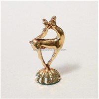 NEW  24K GOLD PLATED bronze sculpture Wholesale