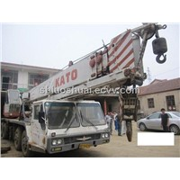 NK400E Kato Mobile Hydraulic Mounted Crane for Sale