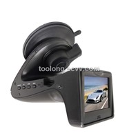 New 2.0Inch HD Car DVR with Radar Detector 5mega Pixels