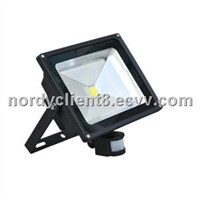 PIR Sensor led flood light 30W  AC96-265V IP65 led outdoor flood lamp