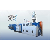 PP/PE Single Wall Corrugated Pipe Extrusion Line