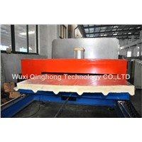 Continuous Production Line of PU Sandwich Panels with Aluminum Foil Facing