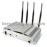 Portable Mobile Phone Cell Phone GPS GSM Signal Jammer SJ8019