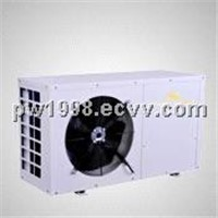 Power World supply sanitary hot water making heat pump