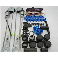 Power window kits/window lifter/two doors power window kits
