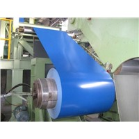 Prepainted steel coil for corrugated roofing sheet
