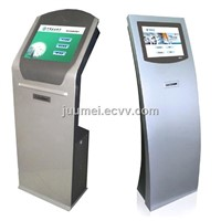 Queue kiosk with counter LED Display have Arabic languge etc Juumei-QK001