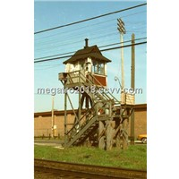 RAILWAY HIGHWAY CROSSING TOWER FOR POWER TRANSMISSION (MGP-RC001)