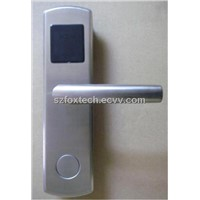 RF MF1 EM T5557 Card Hotel Door Handle Lock
