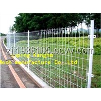 Rising Double edge fence