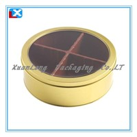 Round Tin Box for Candy/Gift/XL-3035