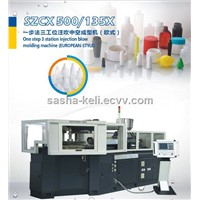 SZCX 500/135X one step 3 station injection blow molding machine