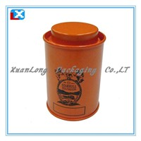 Samll Round Tin Box For Tea/XL-40202