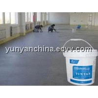 Self-leveling cement curing agent
