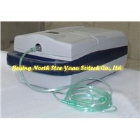 Small battery portable oxygen concentrator