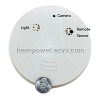 Smoke Detector with Hidden Camera - Waterproof Night Vision-HC1041