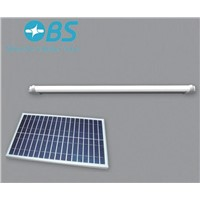 Solar panel LED tube light