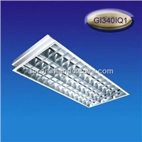 T8/T10 embeded grill lamp panel, lamp tray, high bay light,  3*36/40W