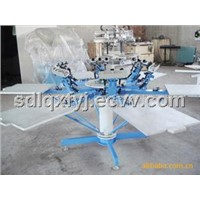 T-shirt printing machine screen print Leather printing machine
