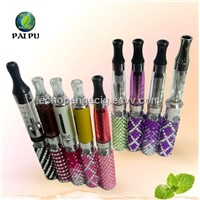 The latest diamond electronic cigarettes and atomizer e cigarette e liquid ego battery