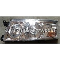 Toyota Coaster headlights