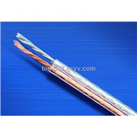 Transparent  PVC  Speaker  Cable