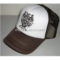 Trucker Mesh Cap with Heat Transfer Printing