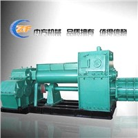 Turn key clay brick project machine,JKR50 Vacuum brick extruder