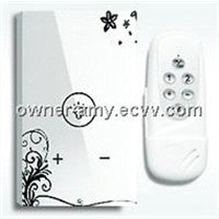 US style, 1 gang dimmer switch with remote control, light switch