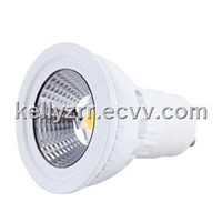 Ultra bright CRI>85 2700K Sharp gu10 5W dimmable led light with reflector